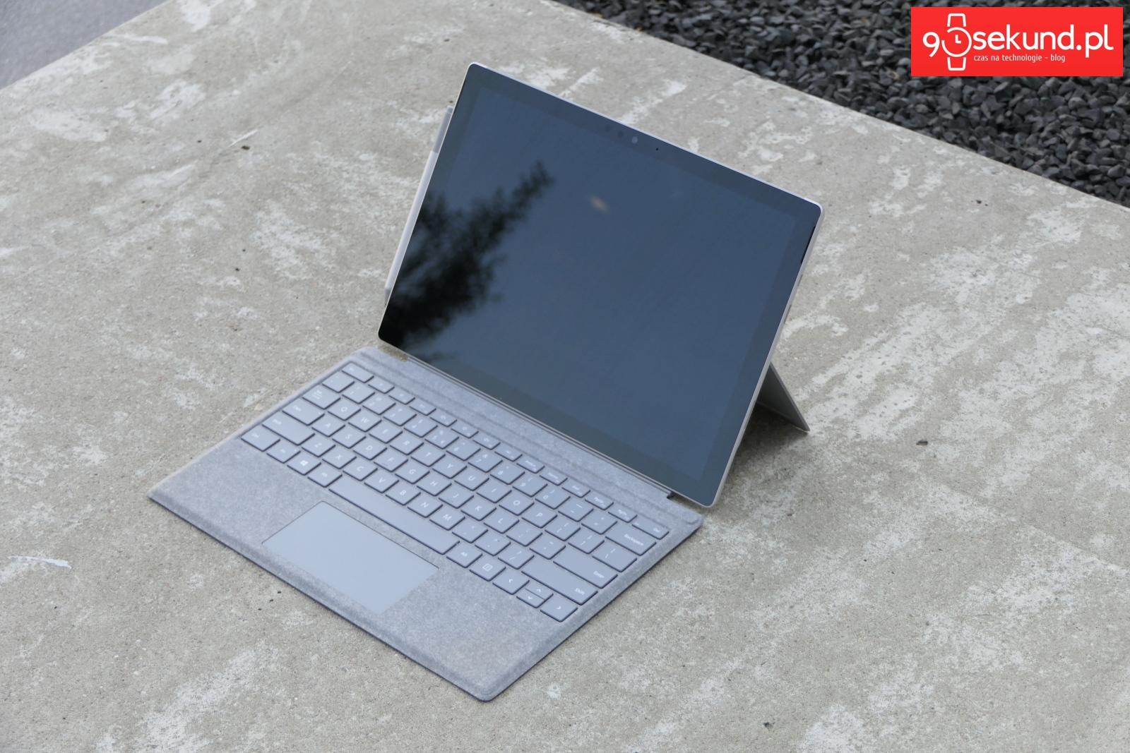 Recenzja Microsoft Surface Pro (2017) - Michał Brożyński - 90sekund.pl