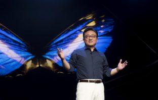 Prezes DJ Koh na konferencji Samsung Developer Conference 2018 - fot. Samsung