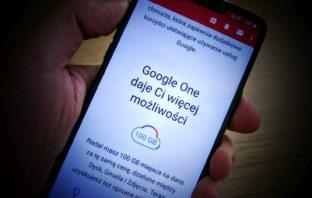 Google One - Michał Brożyński - 90sekund.pl