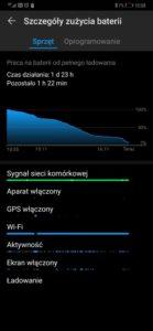 Czas pracy na baterii Huawei Mate 20 Pro - 90sekund.pl