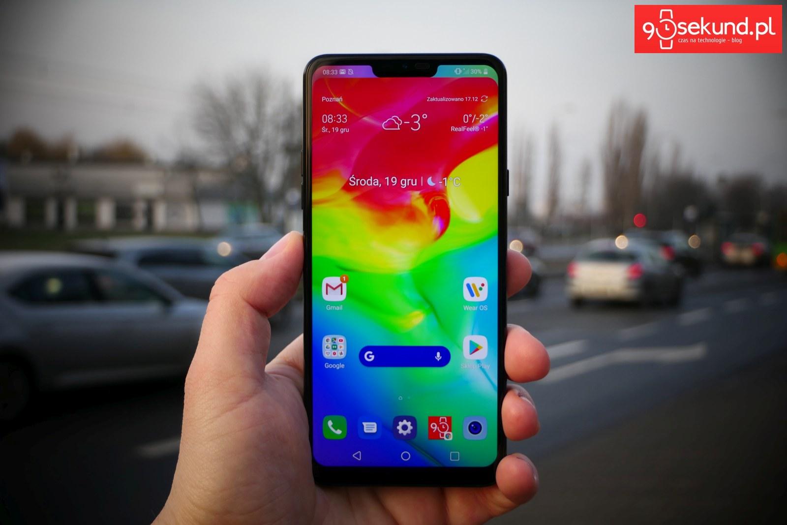 Recenzja LG G7 ThinQ - Michał Brożyński - 90sekund.pl