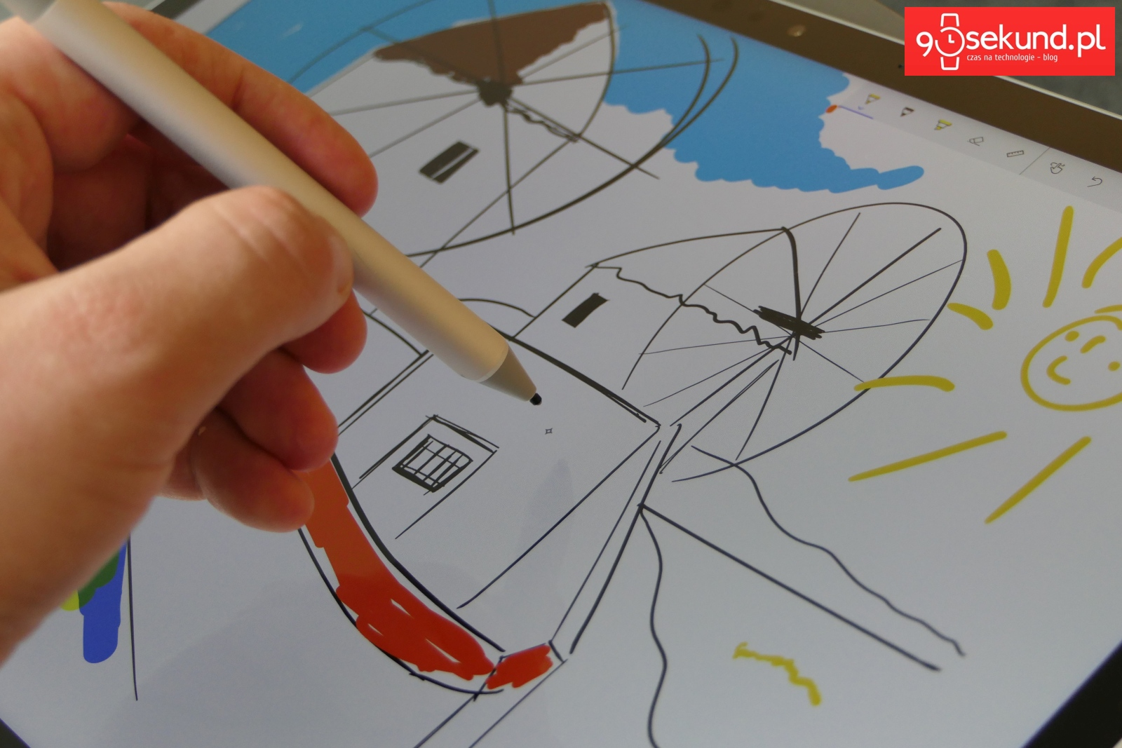 Surface Pen - Michał Brożyński - 90sekund.pl