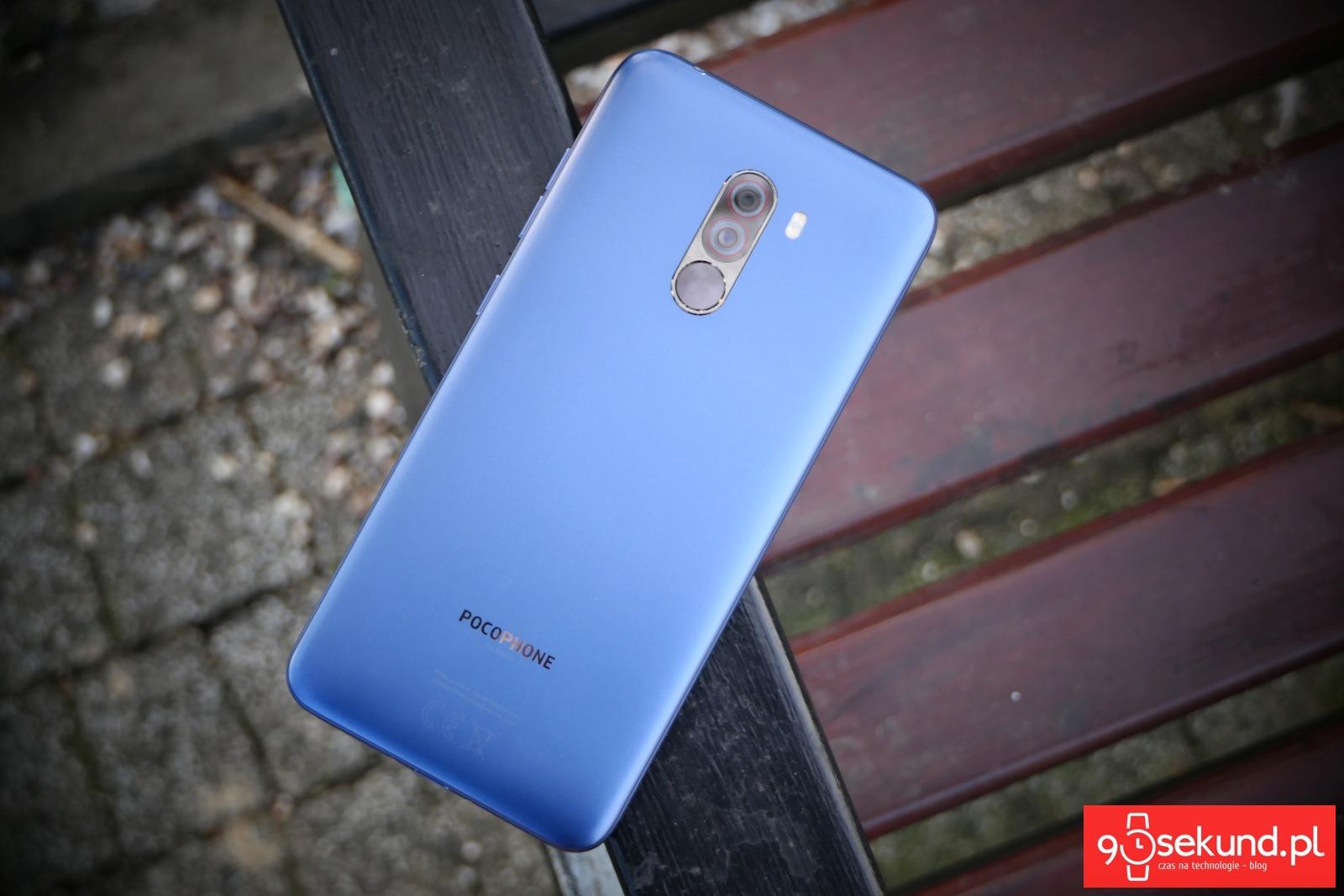 Recenzja Xiaomi Pocophone F1 - 90sekund.pl