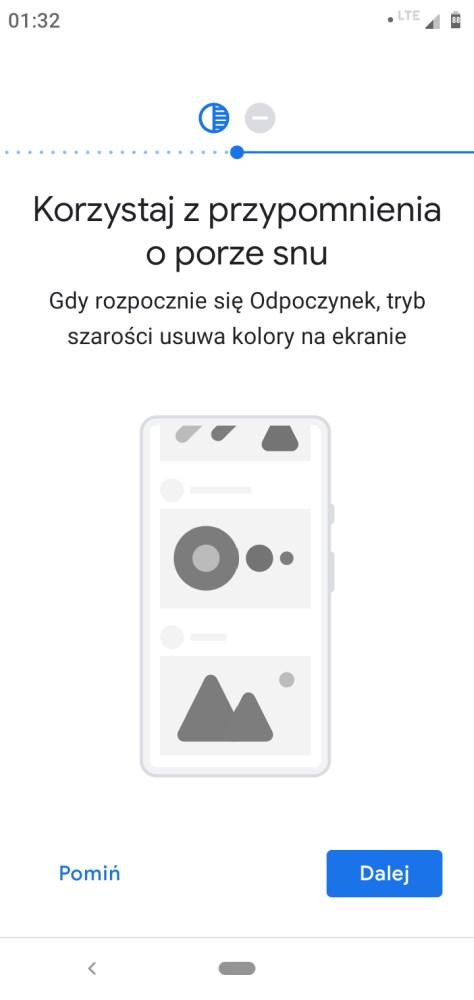 Działanie Cyfrowej Równowagi w Motoroli One - Michał Brożyński - 90sekund.pl