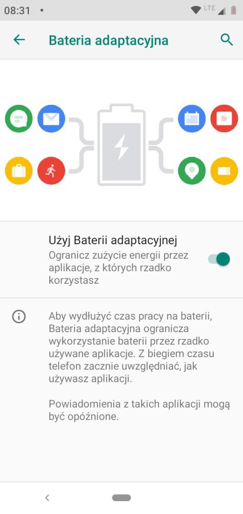 Bateria Adaptacyjna w Motoroli One - Michał Brożyński - 90sekund.pl