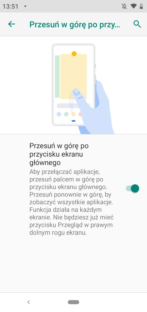 Nowy sposób nawigowania po systemie Android 9 Pie w Motoroli One - Michał Brożyński - 90sekund.pl
