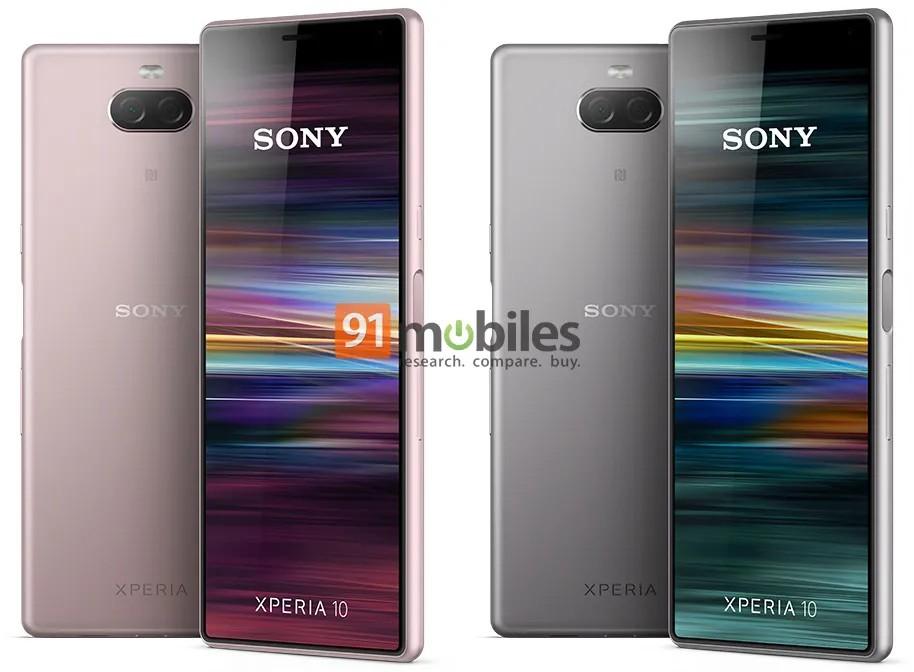 Tak ma wyglądać Sony Xperia 10