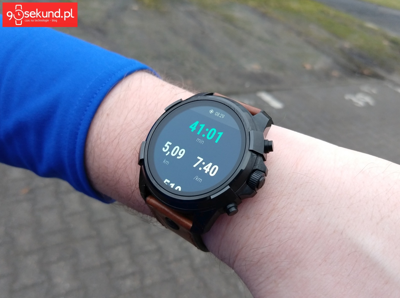 Trening biegowy z Diesel On Full Guard 2.0 w Google Fit - Michał Brożyński 90sekund.pl