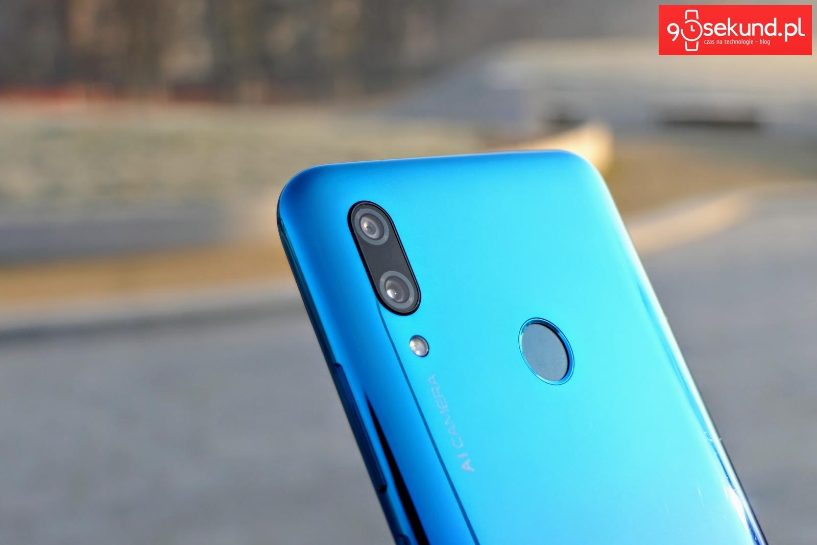 Recenzja Huawei P smart 2019 - Michał Brożyński 90sekund.pl