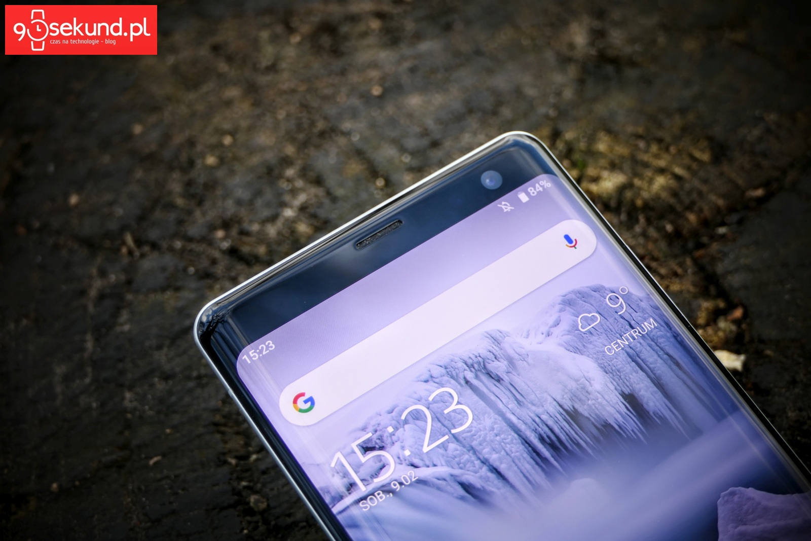 Recenzja Sony Xperia XZ3 - Michał Brożyński 90sekund.pl