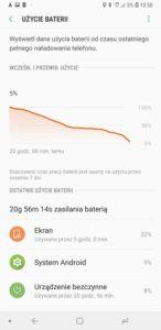 Bateria w Galaxy A7 2018 - Michał Brożyński 90sekund.pl