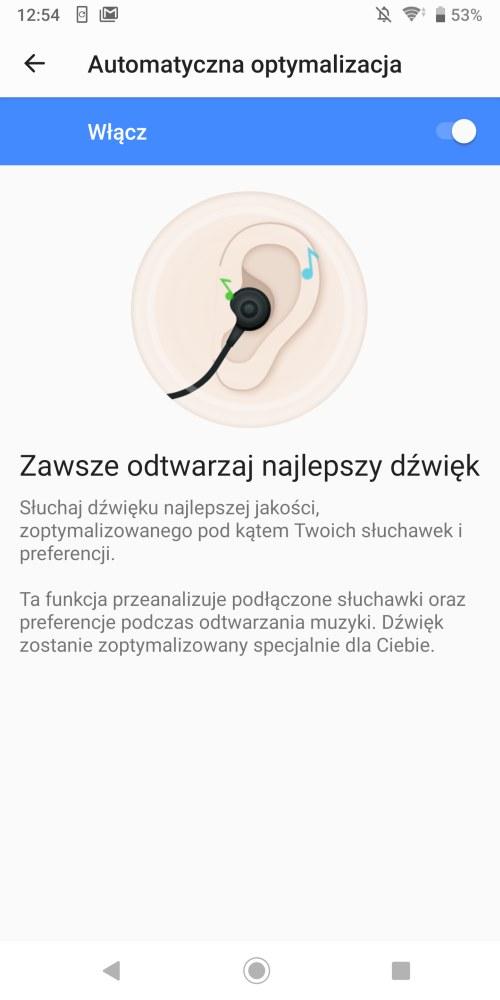 Muzyka i brzmienie Sony Xperii XZ3 - Michał Brożyński 90sekund.pl
