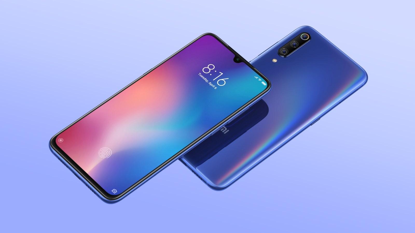 Xiaomi Mi 9 - fot. mat. pras.