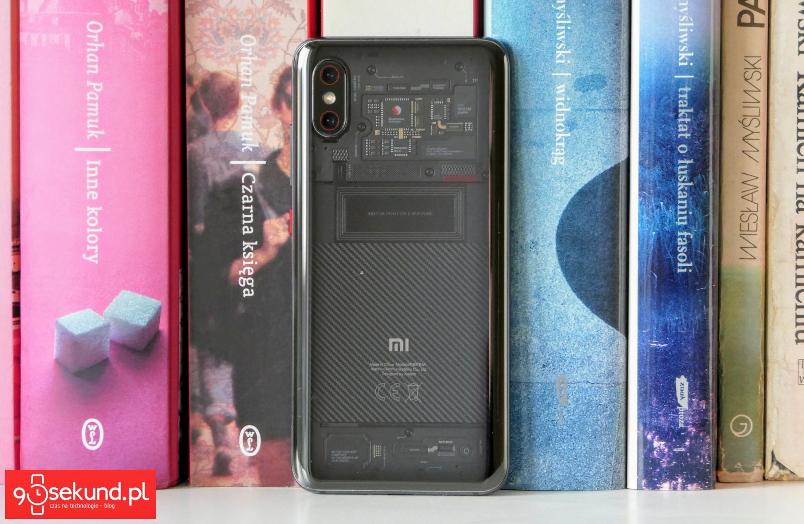 Recenzja Xiaomi Mi 8 Pro - Michał Brożyński 90sekund.pl