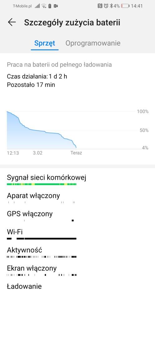 Bateria w Huawei P smart 2019 - Michał Brożyński 90sekund.pl