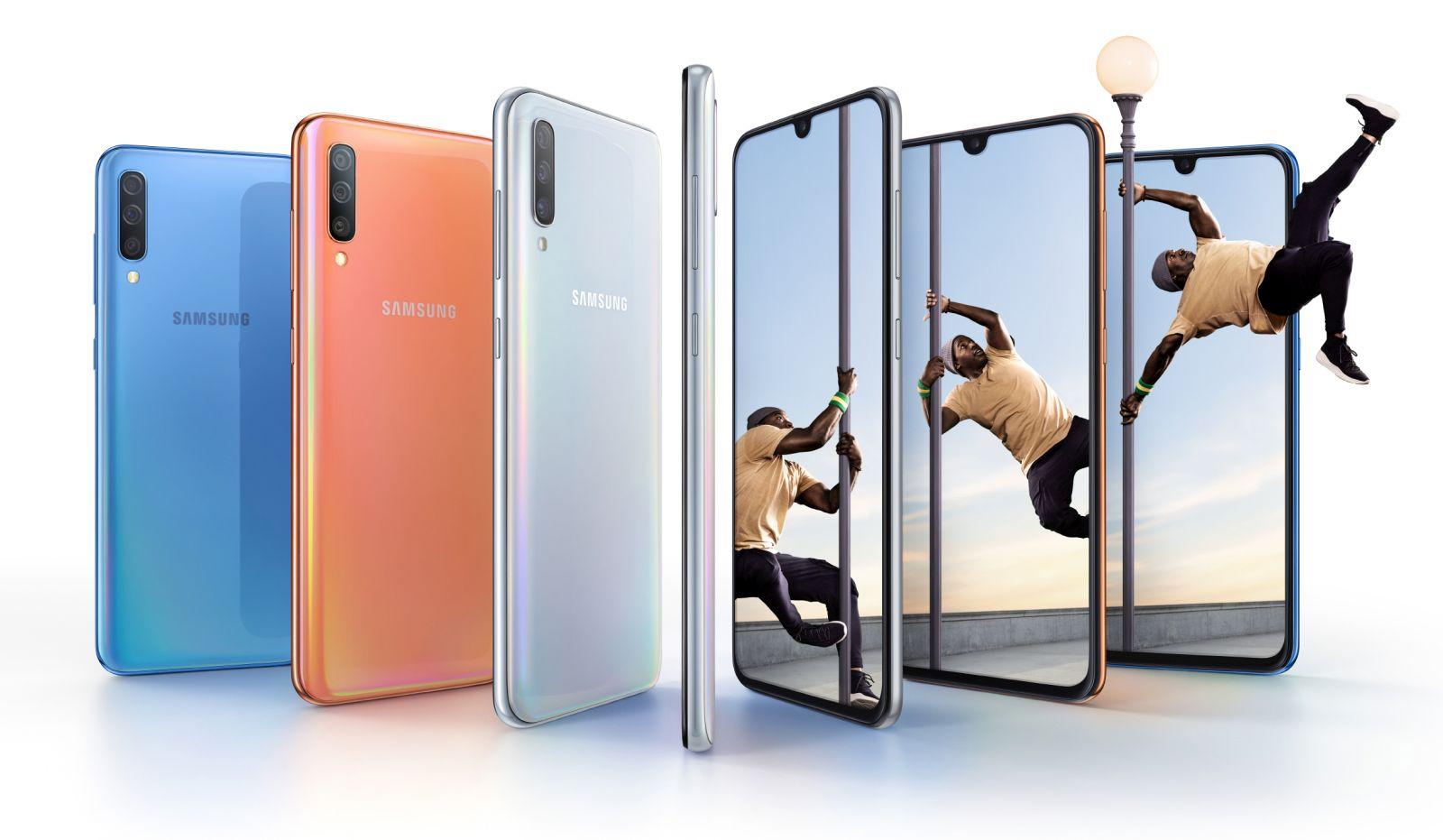 Samsung Galaxy A70 - fot. mat. pras.