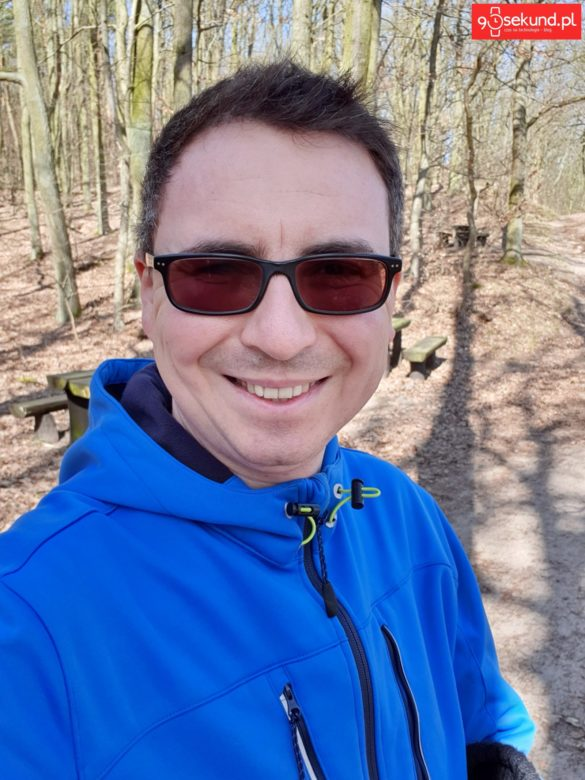 Selfie z Galaxy S10+ Plus - Michał Brożyński 90sekund.pl