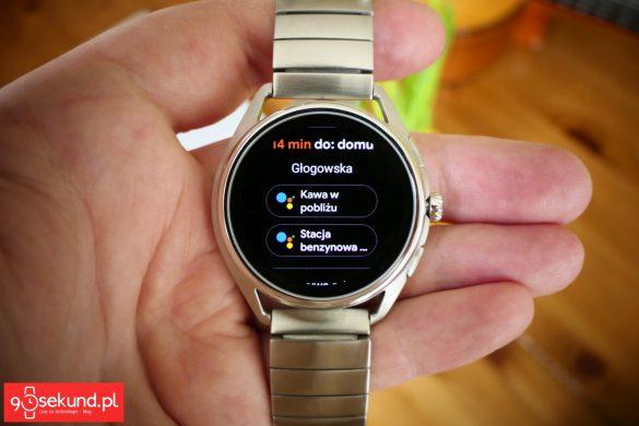 Asystent Google w smartwatchu Emporio Armani Connected - Michał Brożyński - 90sekund.pl